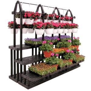 Make sure you have a proper place to display flowers and plants.